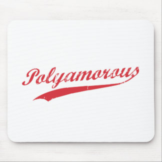 Team Polyamory Polyamorous and Proud Mouse Pad