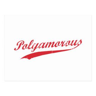 Team Polyamory Polyamorous and Proud Postcard