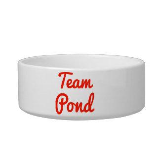 Team Pond Cat Food Bowl