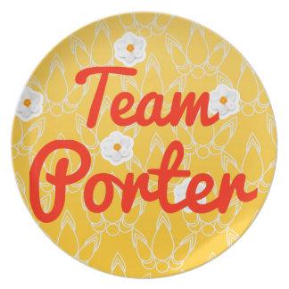 Team Porter Plate