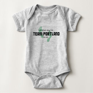 Team Portland 304 baby body suit Baby Bodysuit