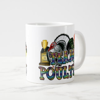 Team Poultry Large Coffee Mug
