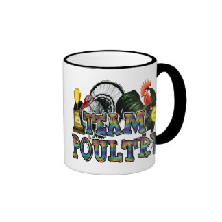 Team Poultry Ringer Coffee Mug