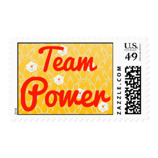 Team Power Stamps