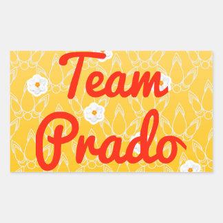 Team Prado Rectangle Stickers
