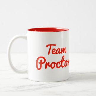 Team Proctor Coffee Mugs