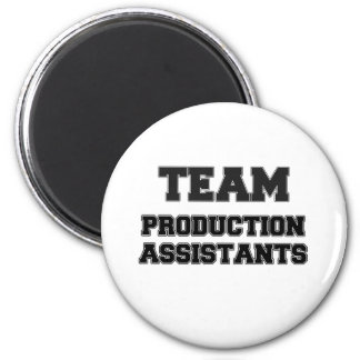 Team Production Assistants Magnets