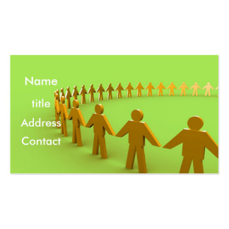 Team - Profile Card Double-Sided Standard Business Cards (Pack Of 100)