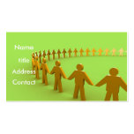 Team - Profile Card Business Card Template