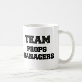 Team Props Managers Classic White Coffee Mug