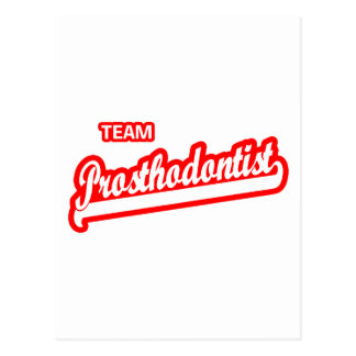 Team Prosthodontist Postcard
