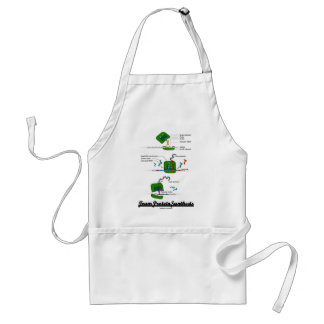 Team Protein Synthesis (Biology) Adult Apron