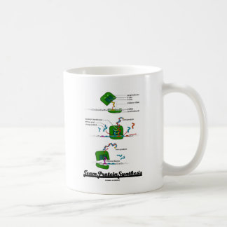 Team Protein Synthesis (Biology) Classic White Coffee Mug