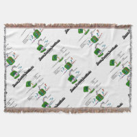 Team Protein Synthesis (Biology) Throw Blanket