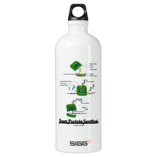 Team Protein Synthesis (Biology) Water Bottle