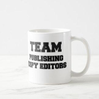 Team Publishing Copy Editors Coffee Mugs