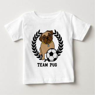 Team Pug Soccer Tees and Gifts - Add your own text