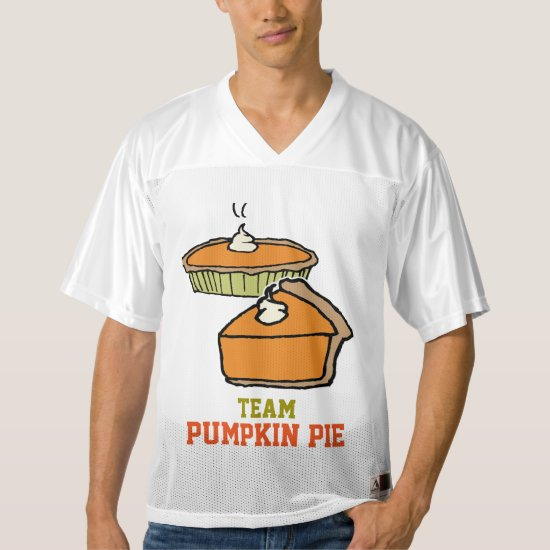 Team Pumpkin Pie Football Tournament Jersey