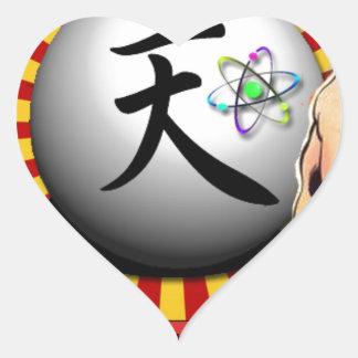 TEAM PUPPY.tif Heart Sticker