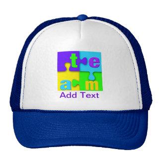 Team Puzzle Hat