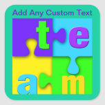 Team Puzzle Stickers