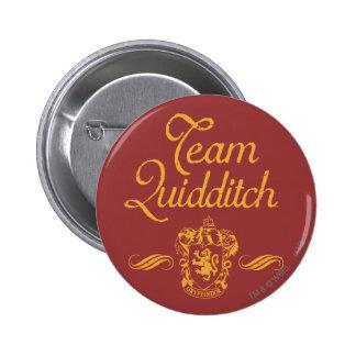 Team Quidditch 2 Inch Round Button
