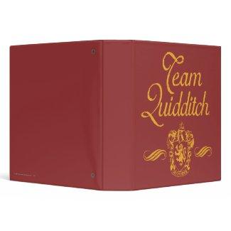 Team Quidditch binder