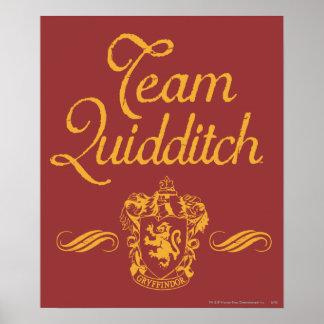 Team Quidditch Poster