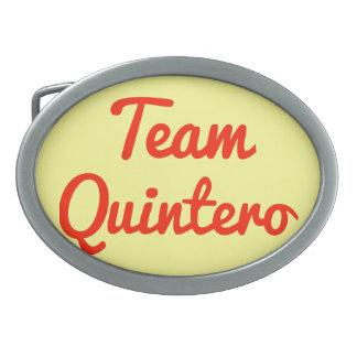 Team Quintero Belt Buckle