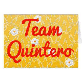 Team Quintero Cards