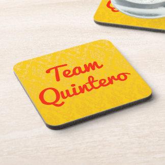 Team Quintero Drink Coaster