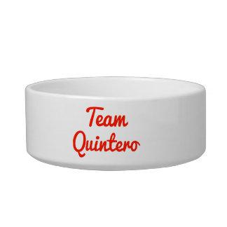 Team Quintero Pet Bowls