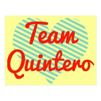 Team Quintero Post Cards