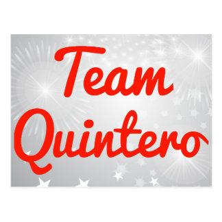 Team Quintero Postcards