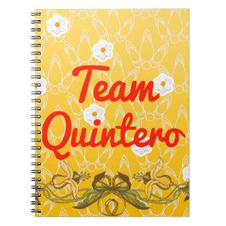 Team Quintero Spiral Notebook
