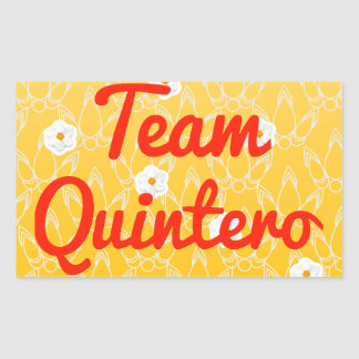Team Quintero Sticker