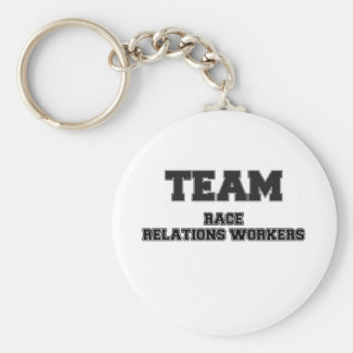 Team Race Relations Workers Key Chains