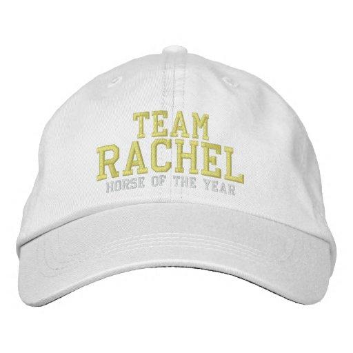 Team Rachel Alexandra Embroidered Hat - Dark