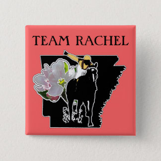 Team Rachel Apple Blossom Showdown Button