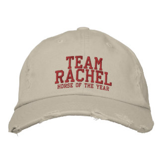 TEAM RACHEL - Horse of the Year Embroidered Baseball Cap