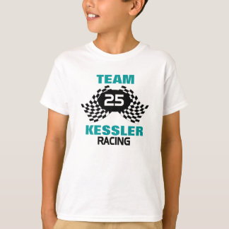 Team Racing Family Kids T-Shirt