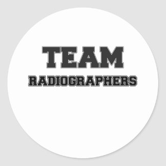 Team Radiographers Stickers
