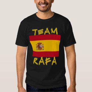 Team Rafa with Spanish Flag T Shirt