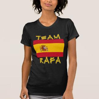 Team Rafa with Spanish Flag Tee Shirt