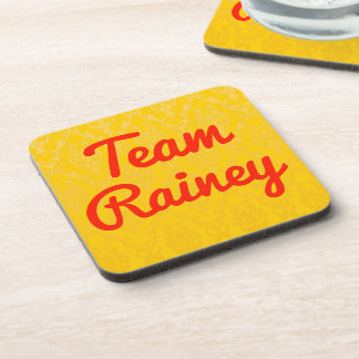 Team Rainey Drink Coaster