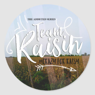 Team Raisin Sticker