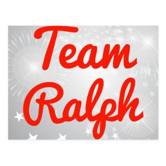 Team Ralph Postcard
