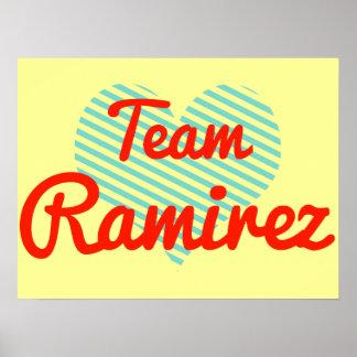 Team Ramirez Poster