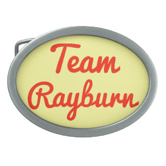 Team Rayburn Belt Buckles