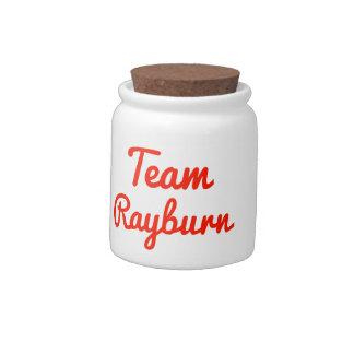 Team Rayburn Candy Jars